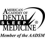 American academy of dental and sleep medicine logo at Smiles LA